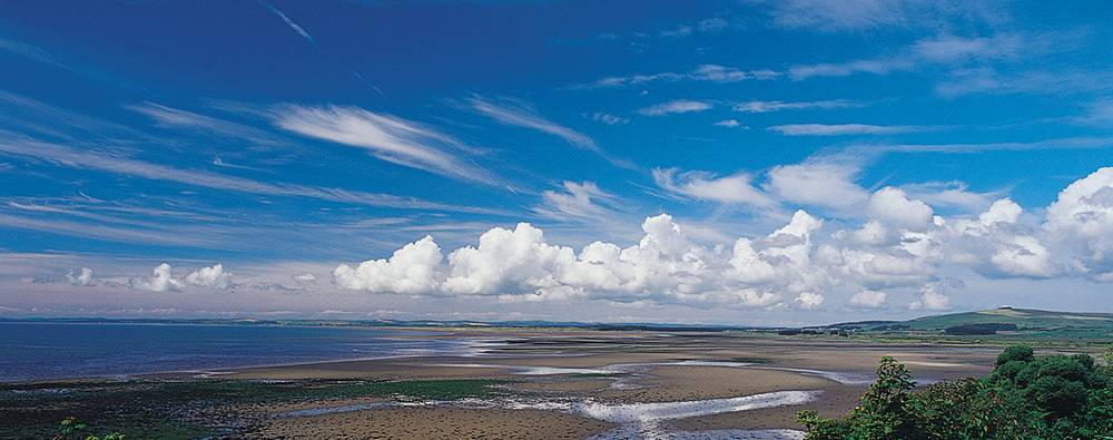 Dumfries and Galloway beach