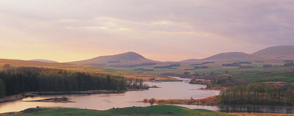 Dumfries and Galloway hills